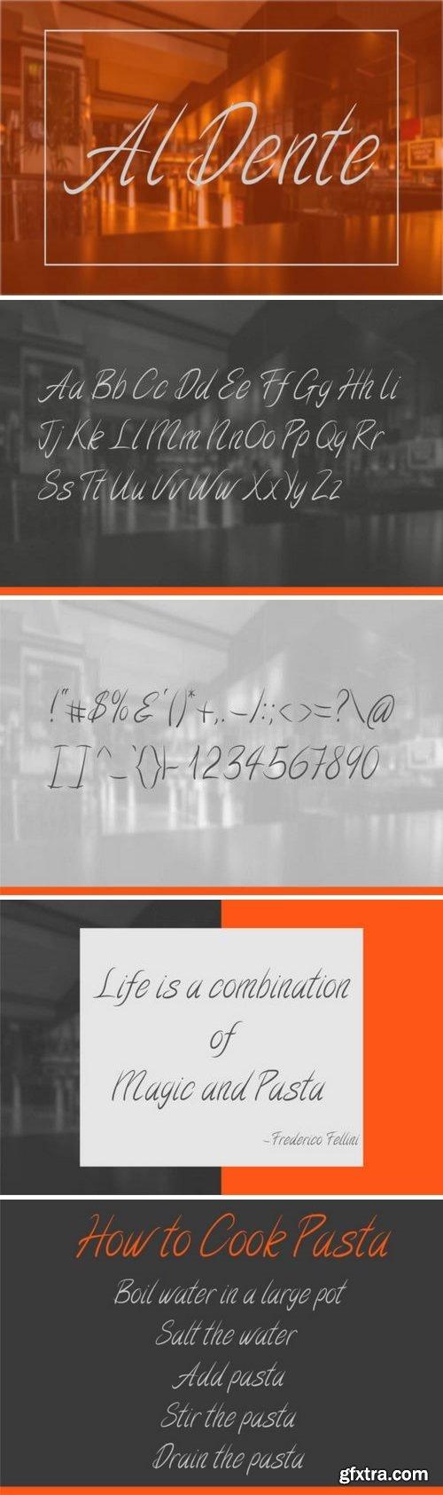 Fontbundles - Al Dente 94549