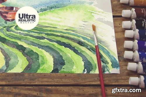 Sketchbook Paint Scene
