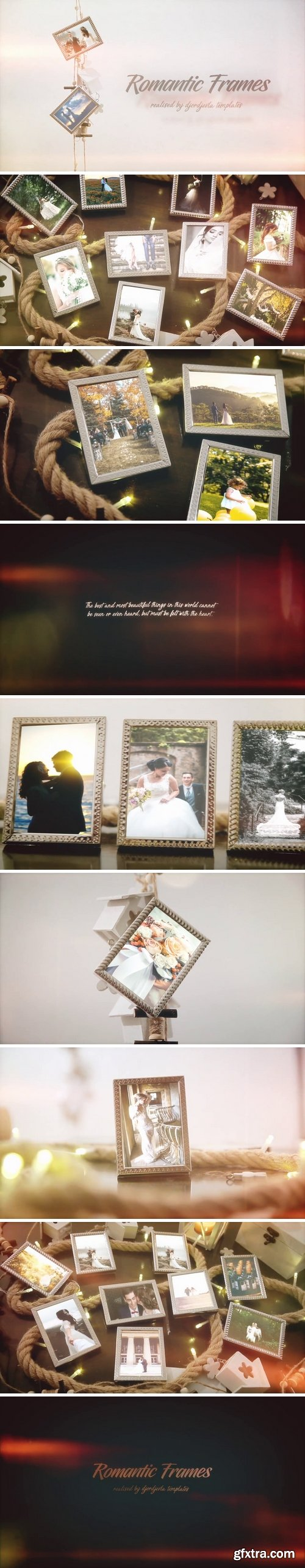 MotionArray - Romantic Frames After Effects Templates 67339