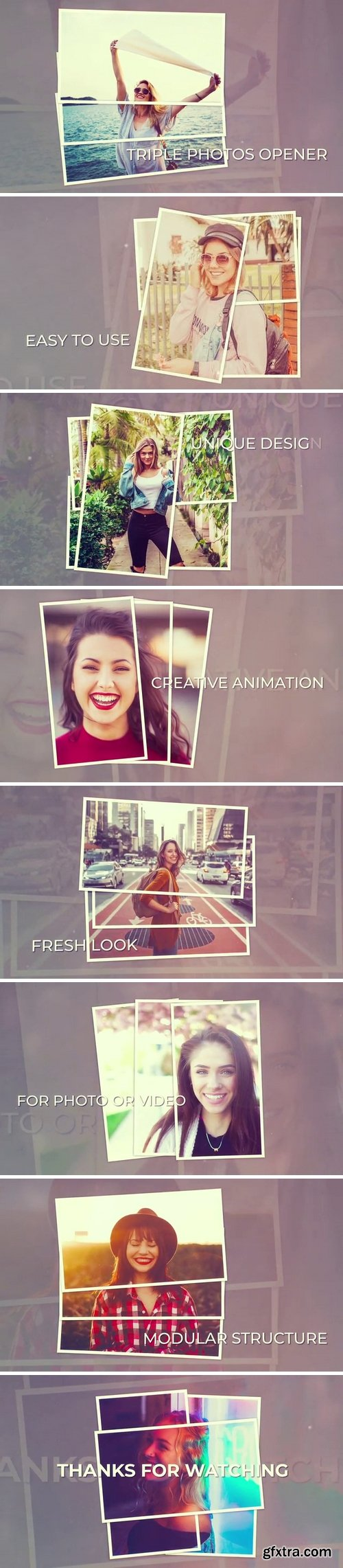 MotionArray - Triple Photos Opener After Effects Templates 141310