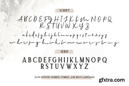 CreativeMarket Allison Style - Font Duo 2613889