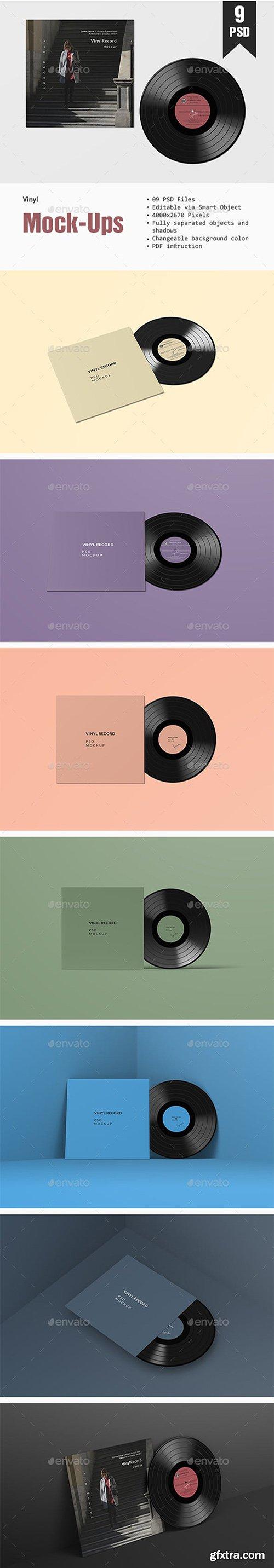Vinyl PSD Mockup 23071173