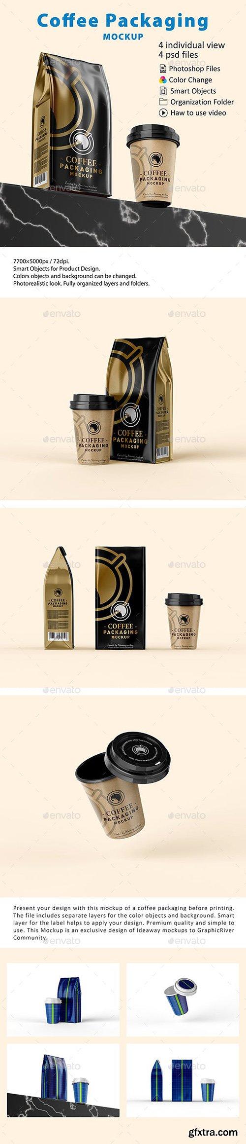 Coffee Packaging Mockup 23070736