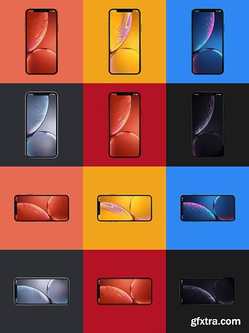 iPhone XR Design Mockup 03