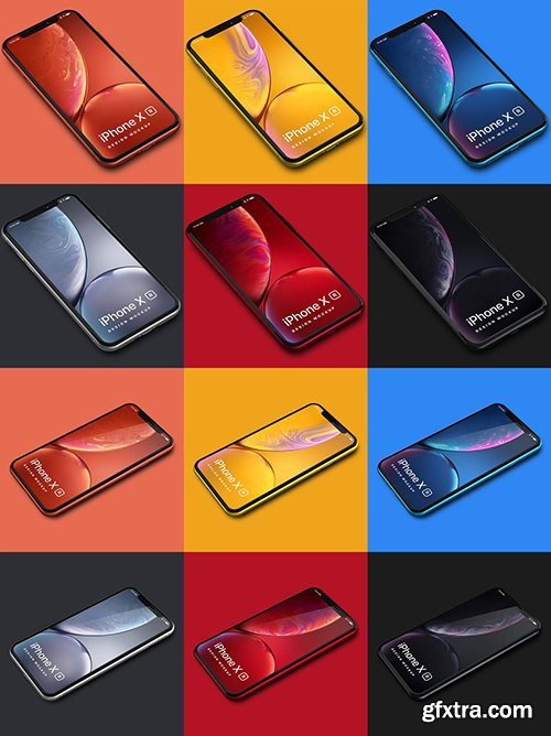 iPhone XR Design Mockup 02