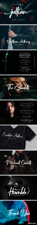 Jullian Script Font