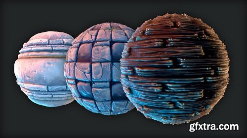Learn to Create Hand-Painted Textures for Games
