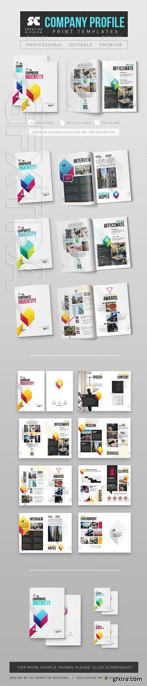 GraphicRiver - Company Profile 23119026