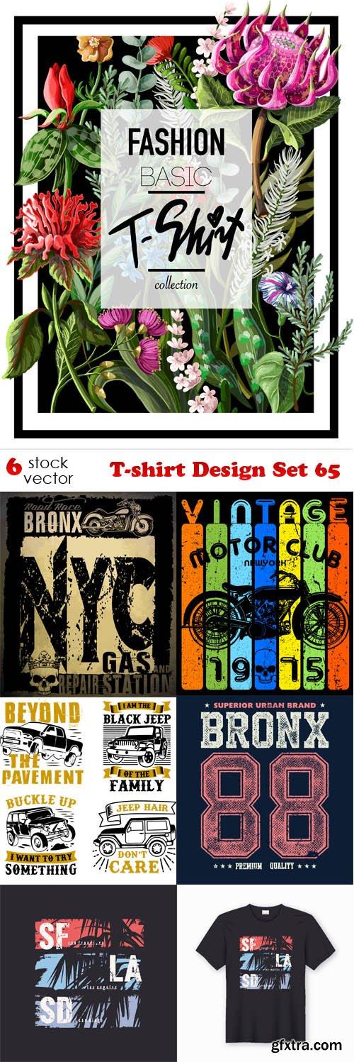 Vectors - T-shirt Design Set 65