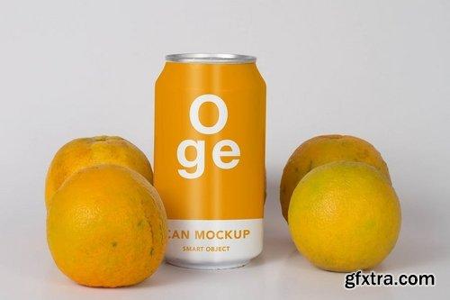 Flavor Soda Can Mock Up
