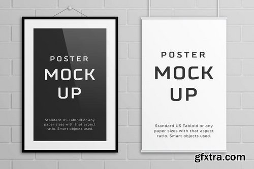 Poster Mock Up – Tabloid