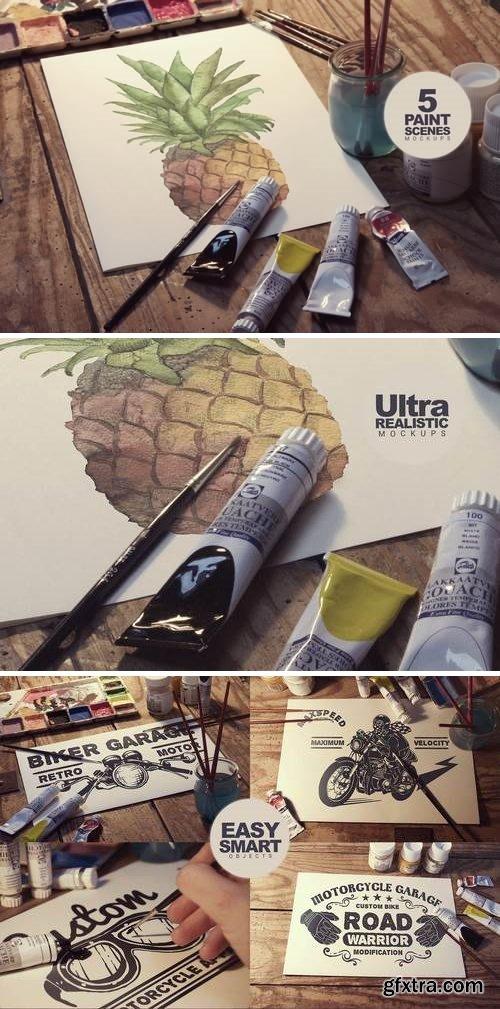 5 Paint Scenes