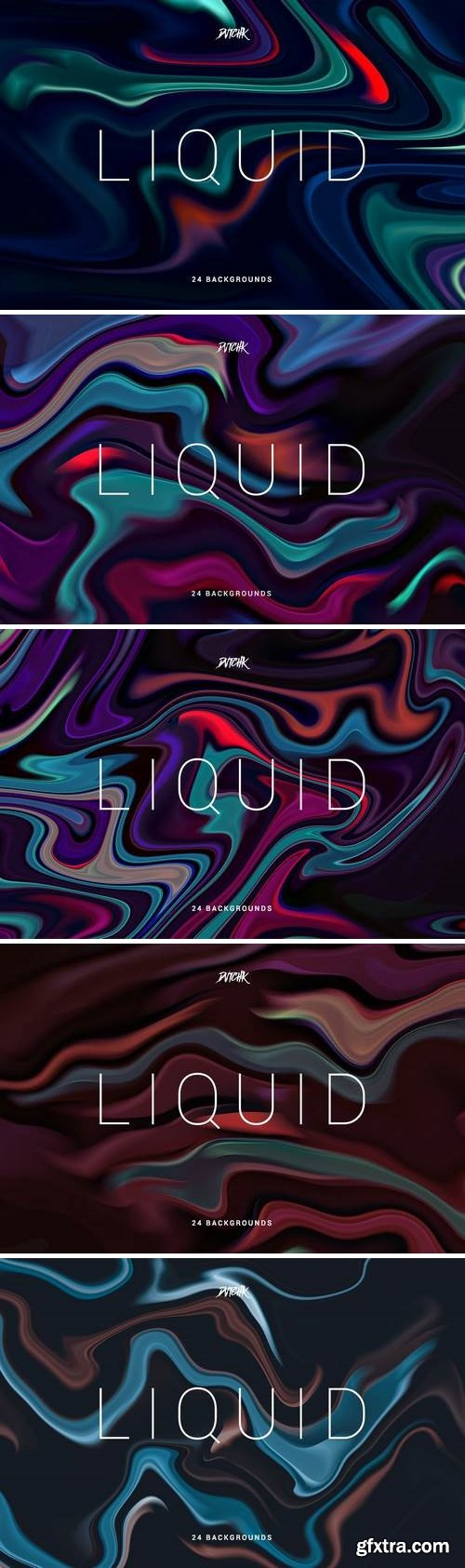 Liquid | Colorful Abstract Backgrounds