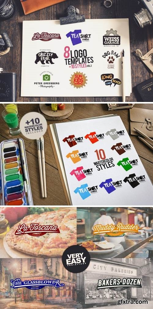 8 Logo Studio vol2 + Extras