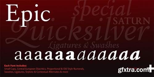 Epic Font Family