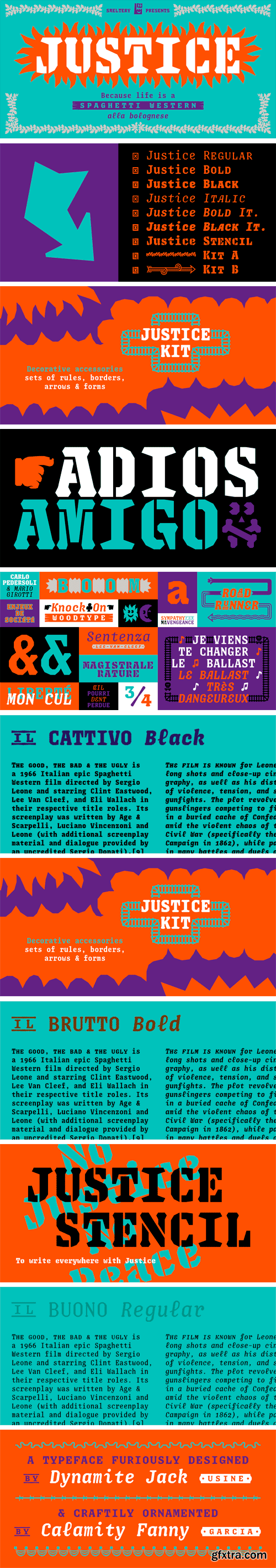 Justice Font Family