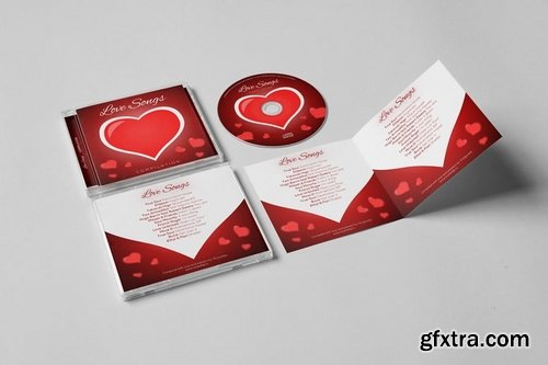 Valentine\'s Day CD Cover Artwork