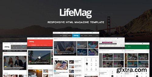 ThemeForest - LifeMag v1.0 - Responsive HTML Magazine Template - 18132469