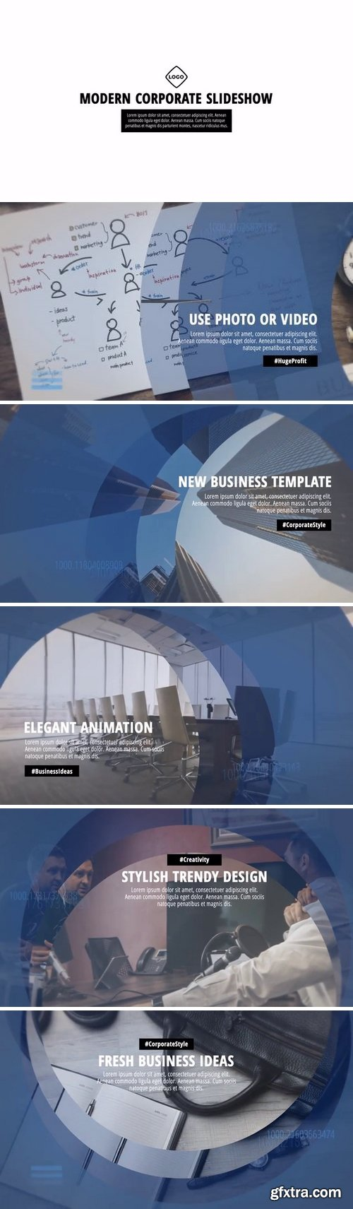 MotionArray - Modern Corporate Slideshow After Effects Templates 160135