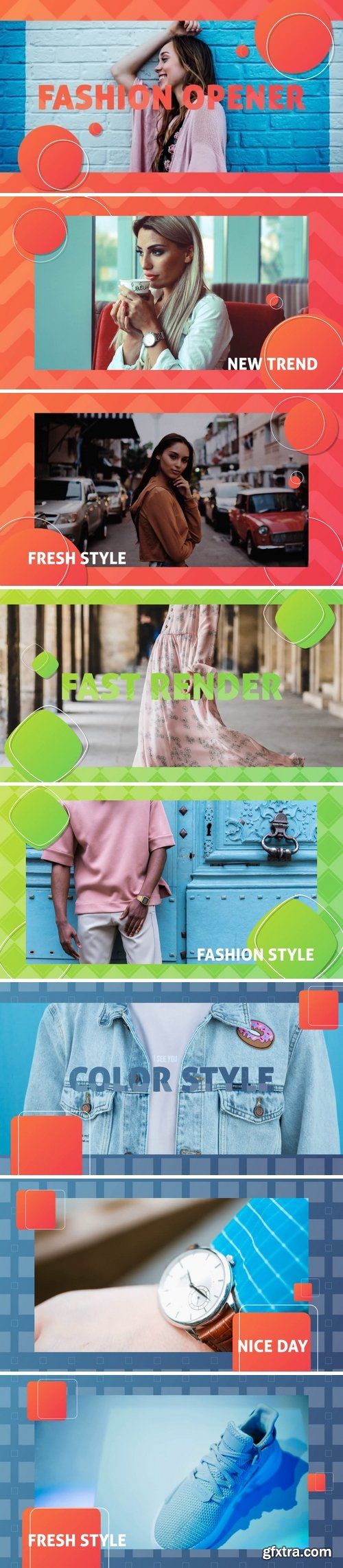 MotionArray - Fashion Promo After Effects Templates 160048