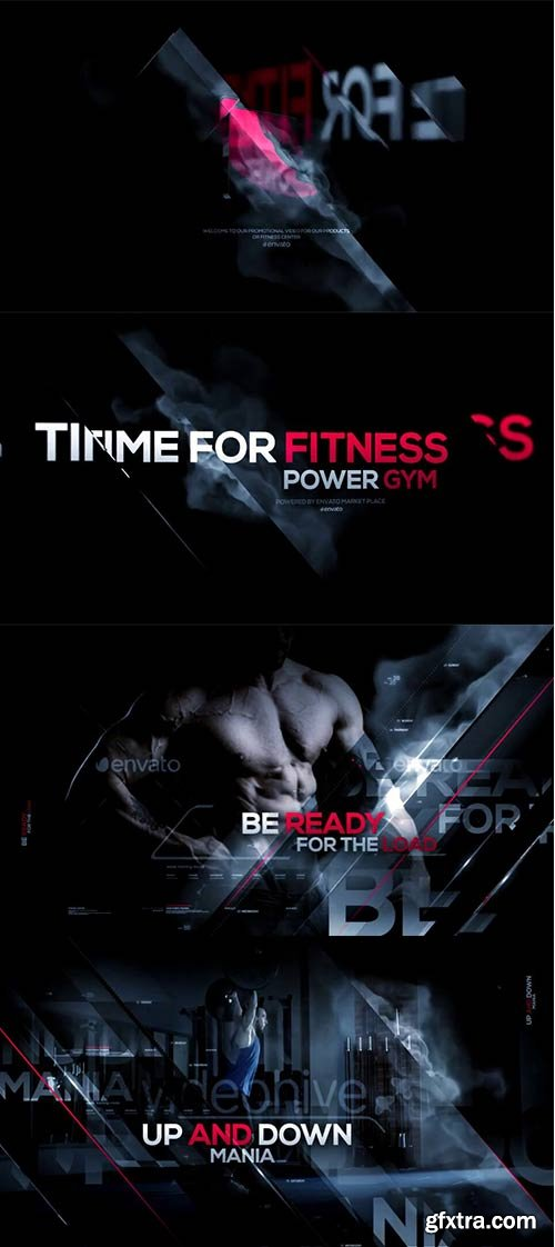 Videohive - Fitness - Broadcast Pack - 19939197