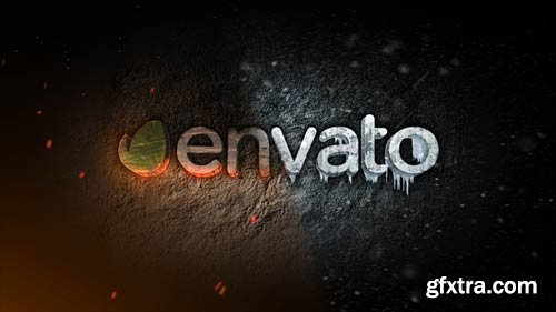 Videohive - Ice & Fire Reveal - 6867726