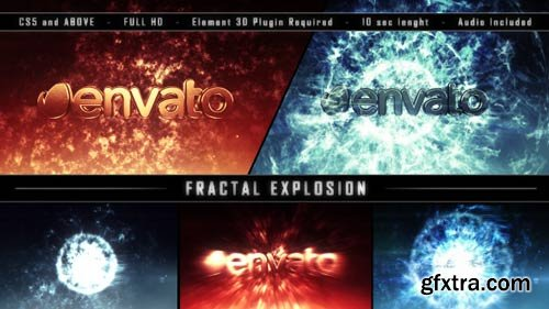 Videohive - Fractal Explosion - 9056933