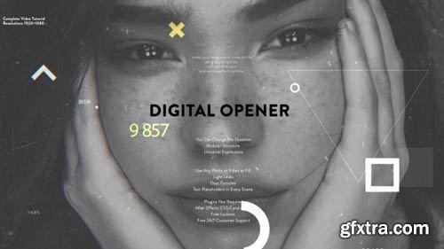 Videohive - Digital Opener - 21369607