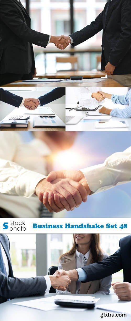 Photos - Business Handshake Set 48