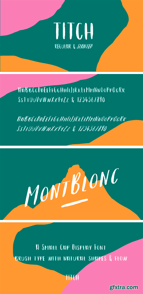 Titch Font Family