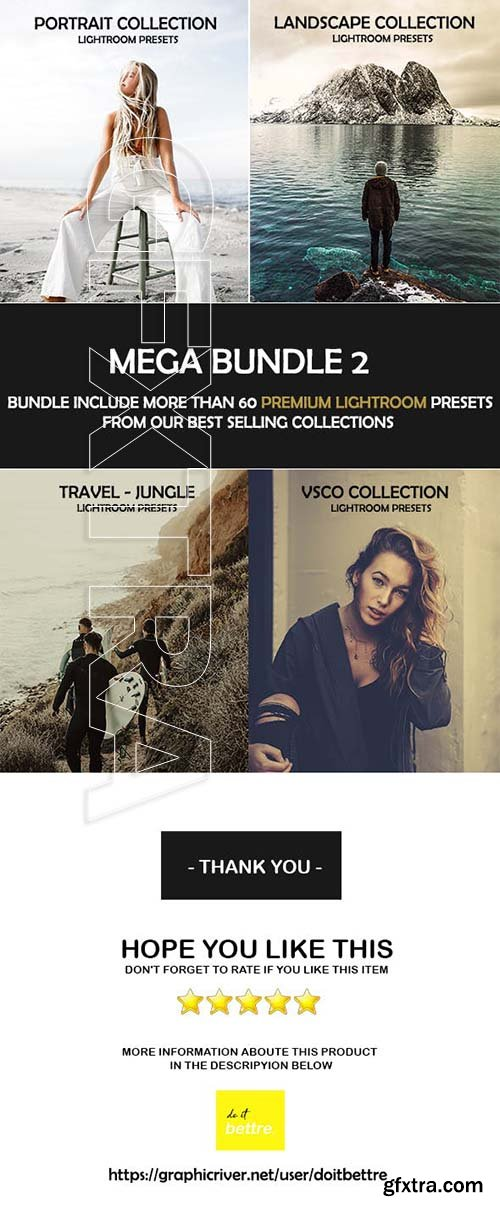 GraphicRiver - Mega Bundle Lightroom Presets 23079200