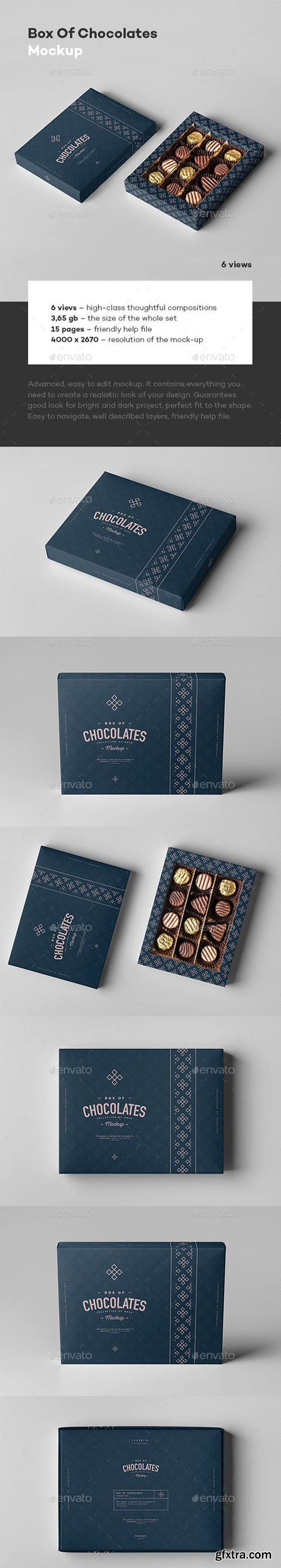 Box Of Chocolates Mock-up 23126932