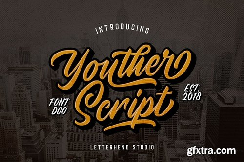 CM - Youther Brush - Layered Font Duo 3125776