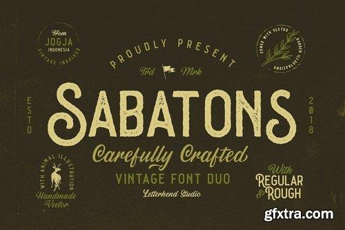 CM - Sabatons - Vintage Font Duo 3289275
