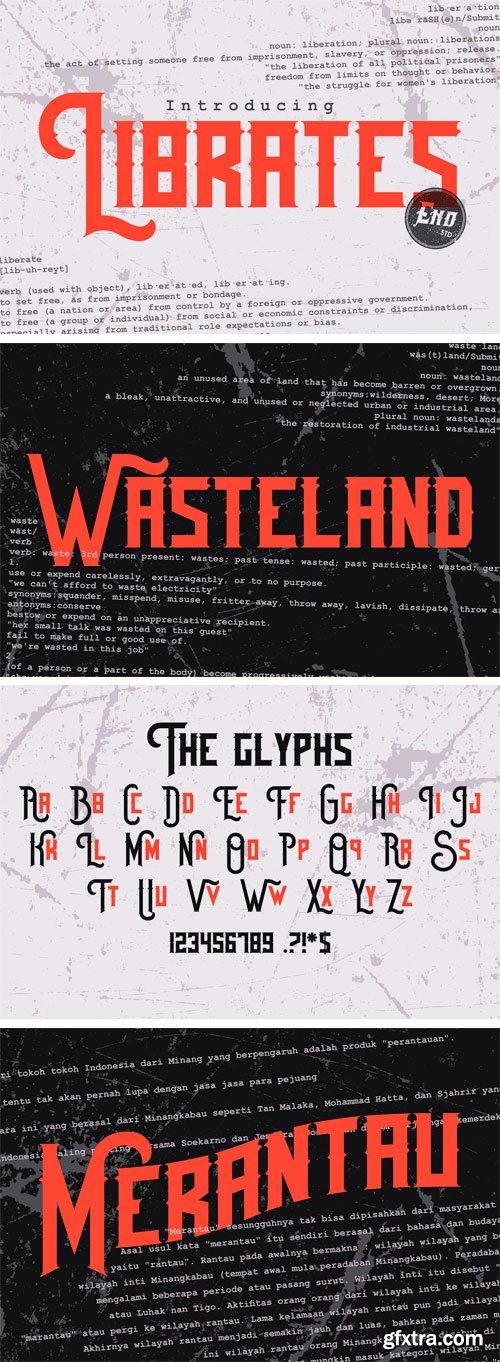 CM - Librates Typeface 3012136