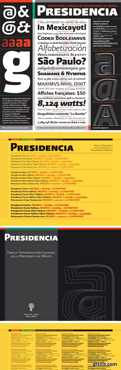 Presidencia Sans Font Family