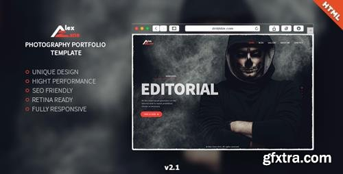 ThemeForest - Alex Zane v2.1 - Photography Portfolio - 14458095