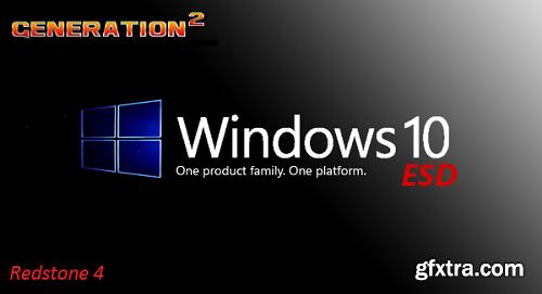 Windows 10 Pro Redstone 4 x64 OEM ESD January 2019