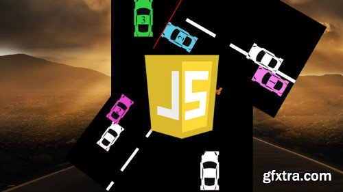 JavaScript Car Driving Game from scratch with source code