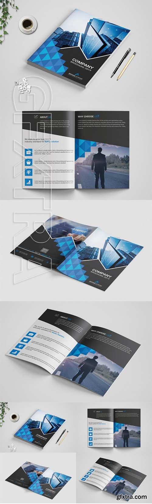 Corporat bi-Fold Brochure