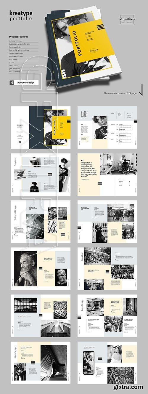 CreativeMarket - Kreatype Portfolio 3357433
