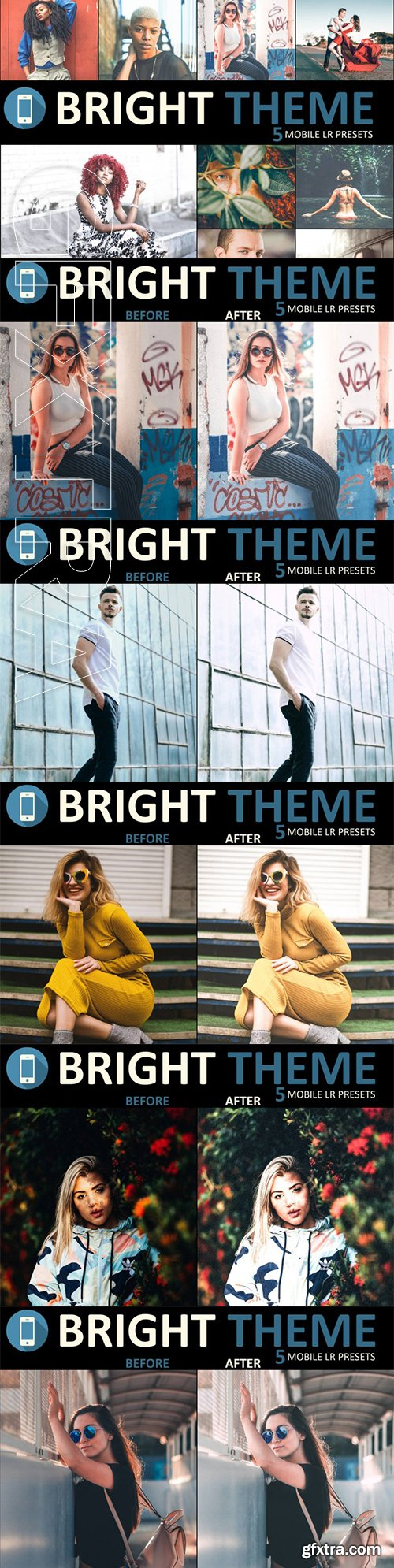 Neo Bright Mobile Lightroom Presets