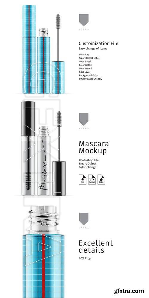 CreativeMarket - Mascara Mockup Glass 3356106