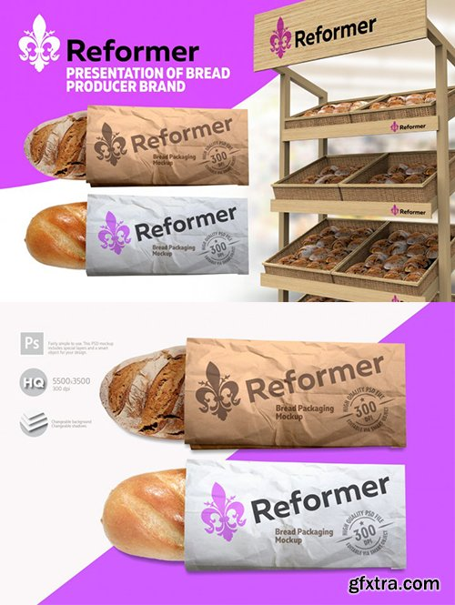 Bread Mock-up Two Presentation Files