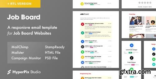 ThemeForest - Job Board v1.0 - Email Template - 23116706