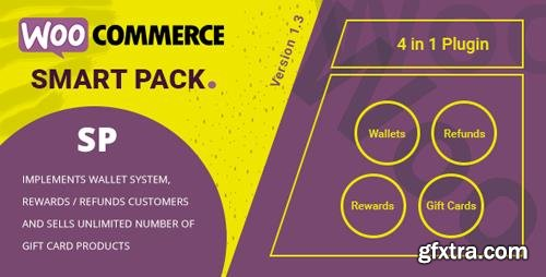 CodeCanyon - WooCommerce Smart Pack v1.3.10 - Gift Card, Wallet, Refund & Reward - 20265145