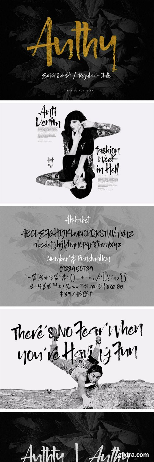 Authy Font Family