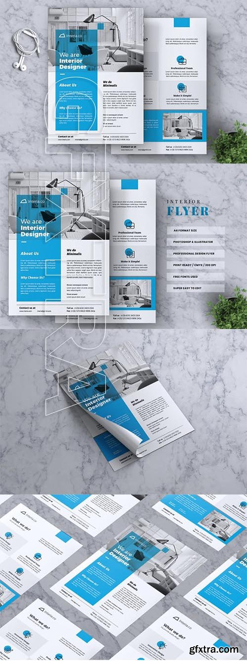 CreativeMarket - Interior Design Flyer Vol 02 3327029