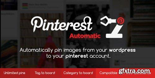 CodeCanyon - Pinterest Automatic v4.10.2 - Pin Wordpress Plugin - 2203314 - NULLED