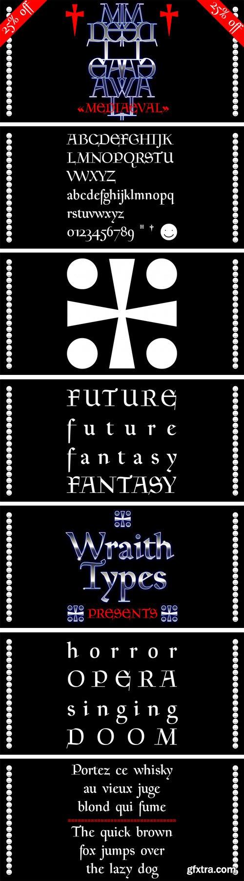 WT Mediaeval Font Family